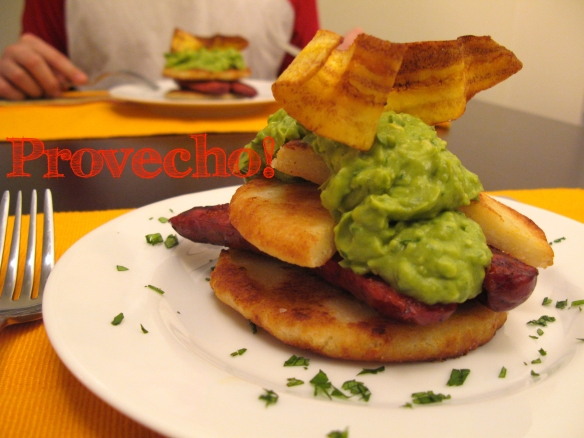 Arepas with Chorizo | Dulce and Salado