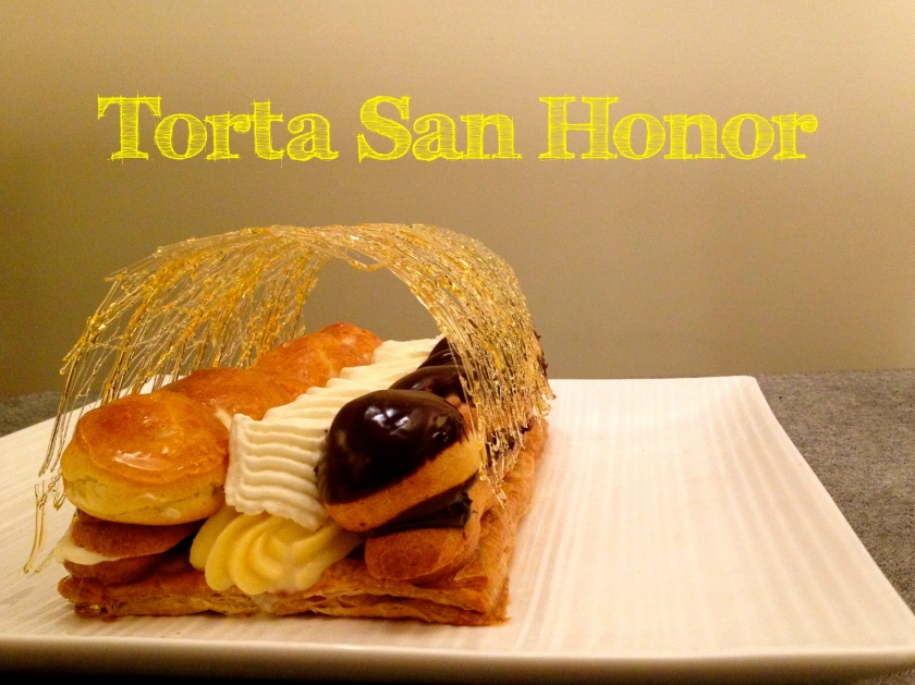 Torta San Honor, Saint Honore Cake