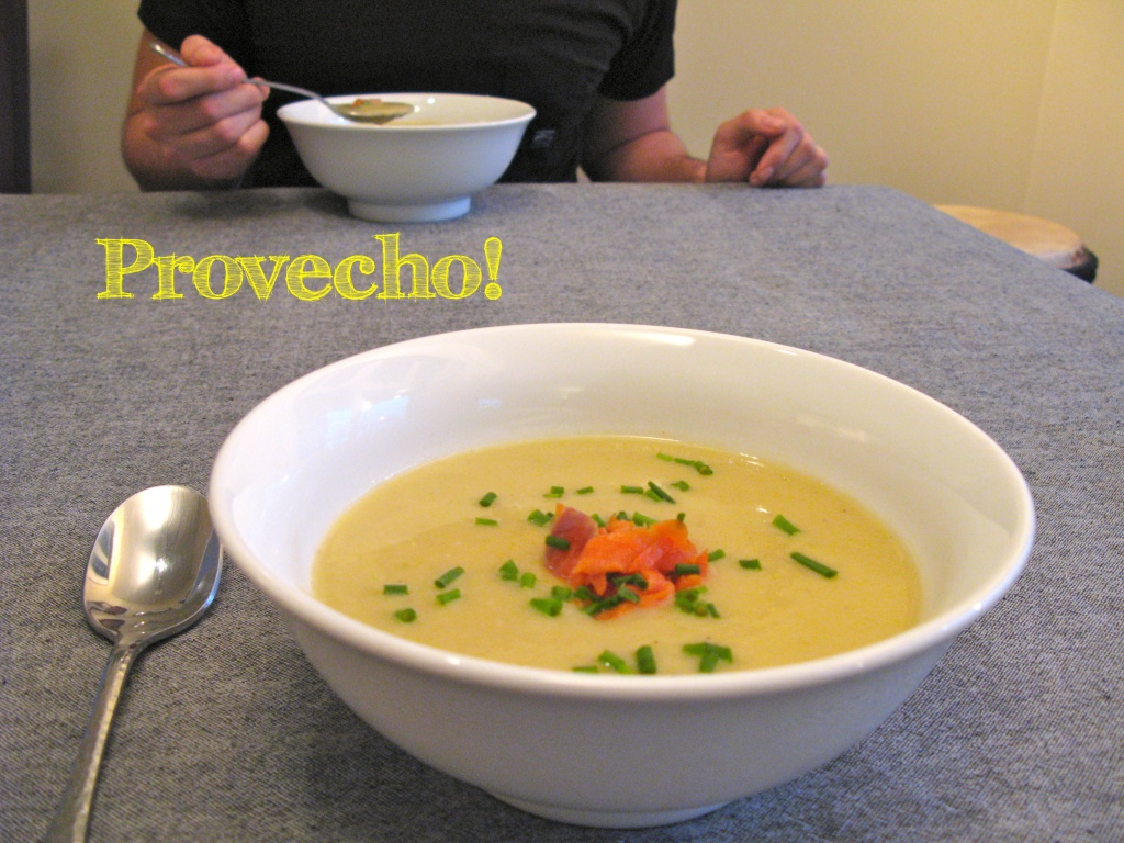 potato leek soup provecho!
