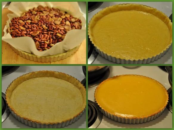 Baking the Passion fruit tart