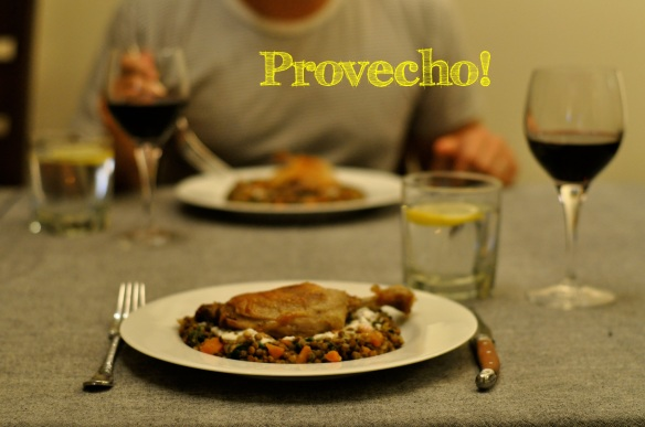 Duck Confit... Provecho!