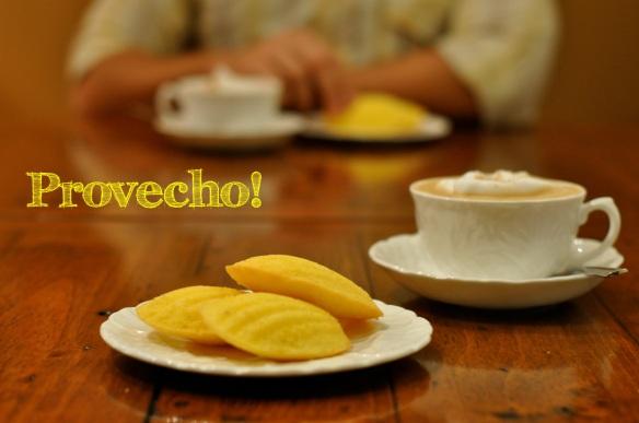 Lemon Vanilla Madeleines... Provecho!