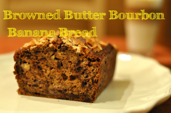 Browned Butter Bourbon Banana Bread | Dulce and Salado