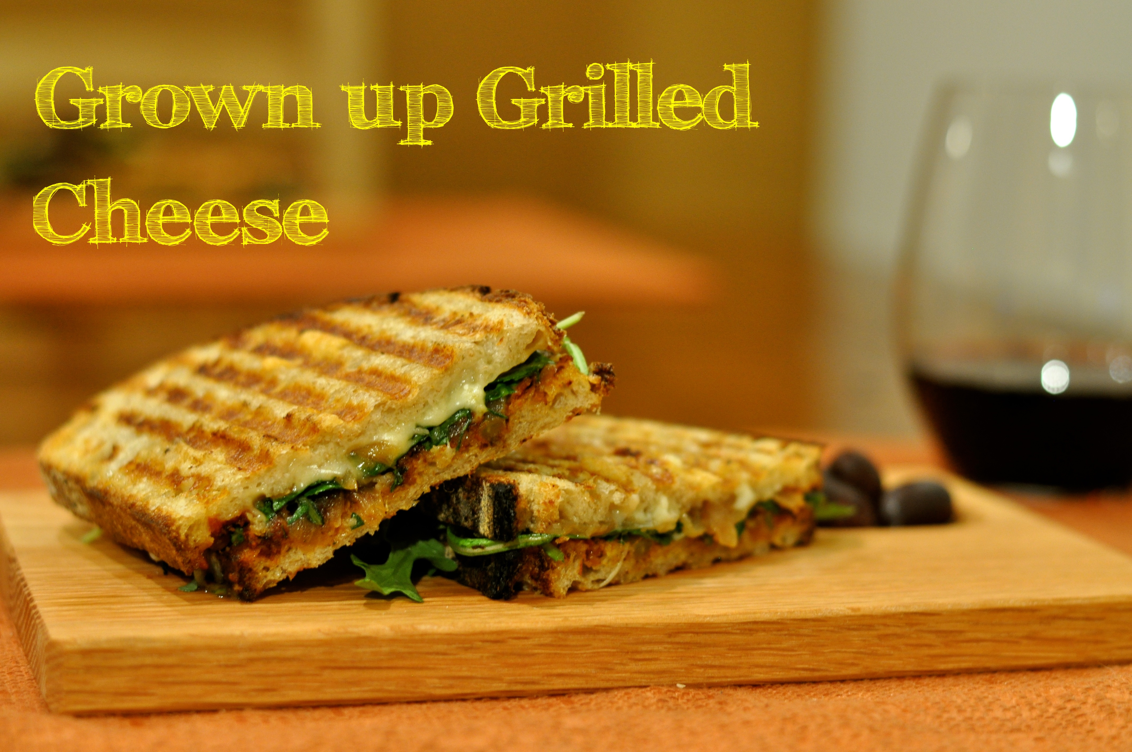 Grown-up Grilled Cheese | Dulce and Salado