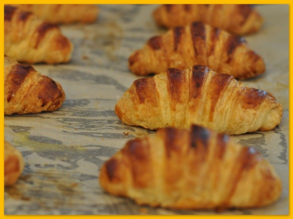 Croissants - baked