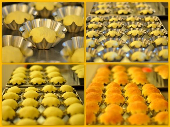 Paska dough rising