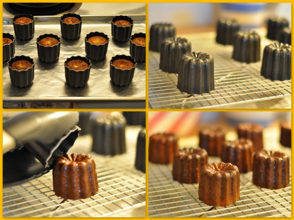 finished Canele