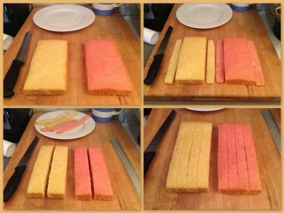 Assembling the Battenberg