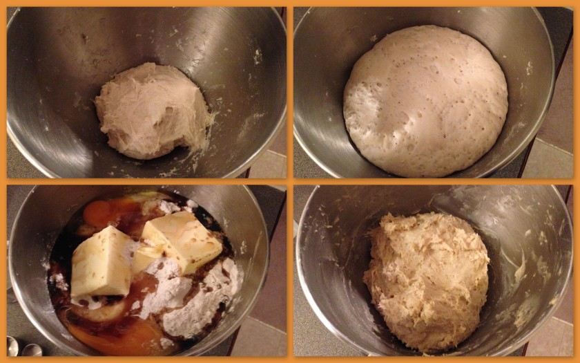 Liege waffle batter
