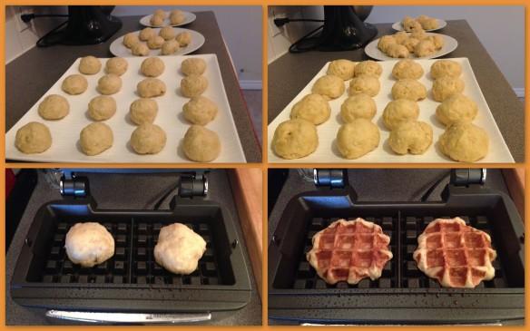 Liege waffle - dough rising