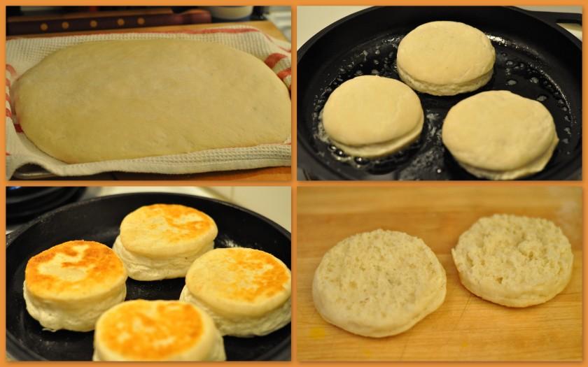 Fresh english muffins