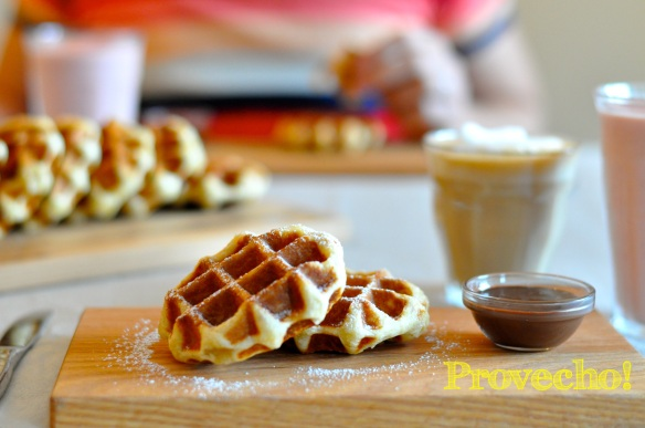 Liege waffle… Provecho!