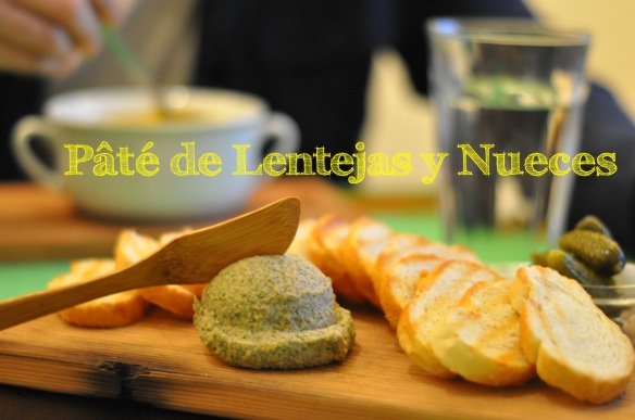 Lentil and Walnut Pate