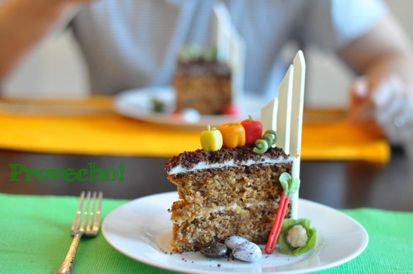 Spring garden cake… Provecho!