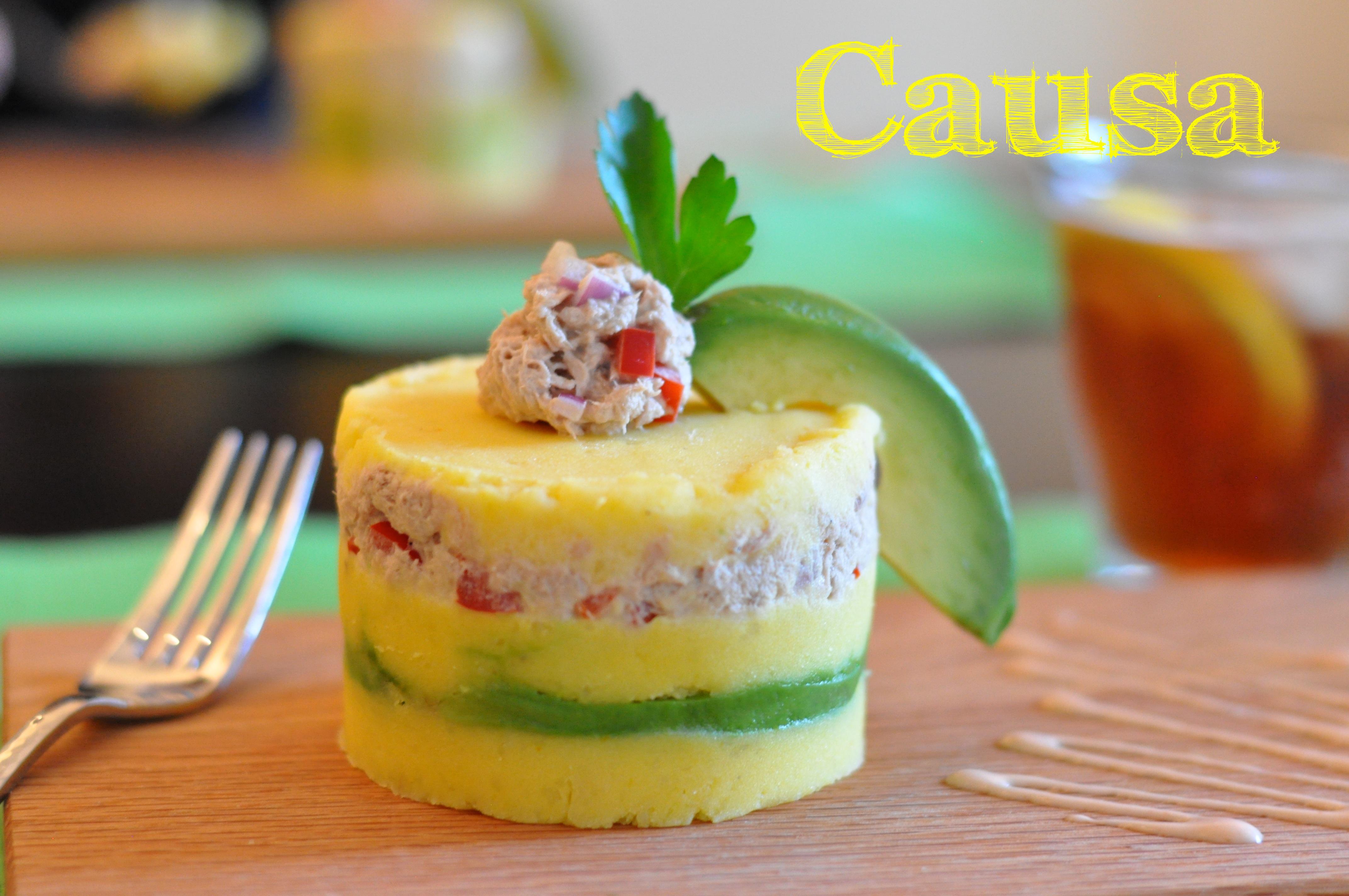 Causa Peruvian Food Recipe